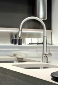 Newform Countertop 1 hole Kitchen Mixer tap Y-CON Chrome made in Italy