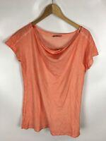 SEQUEL T-Shirt, aprikot, Größe L, 100% Baumwolle