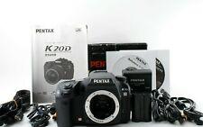 [Excellent+5] PENTAX K K20D 14.6MP Digital SLR Camera Body Number of shots 26643