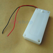 Battery Holder 2 AA LR6 Case 3V Waterproof Box Cover ON/OFF Switch Wire Lead