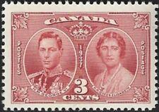Canada  # 237  King George VI & Queen Elizabeth  New Issue 1937 Pristine Gum