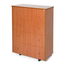 Mobile giroletto ciliegio in legno con letto estraibile salva spazio materasso