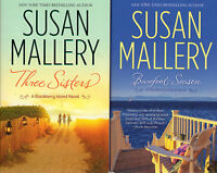 Complete Set Series - Lot of 3 Blackberry Island Trilogy books by Susan Mallery