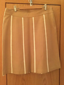 LOVELY DESIGNER LEATHER SKIRT - SIZE 44