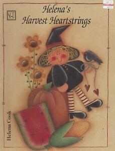 Helena's Harvest Heartstrings ~ Helena Cook - Painting