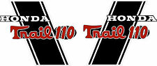 "CT70H Trail CT110HKO 110cc frame decals, graphics, Stickers.  CUSTOM ""TRAIL 110"""