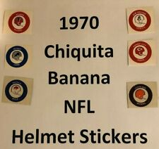 1970 Chiquita Banana TEAM LOGO STICKERS $9.99 Each - WITH BACKING - MOST TEAMS