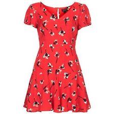 Topshop Skater Short/Mini Floral Dresses for Women