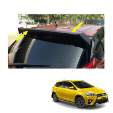 Fits Toyota Yaris Hatchback 14 2015 16 17 Rear Tailgate Spoiler Matte Black Trim