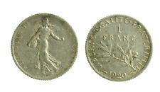 s52_42)  France 1 Franc KM# 844.1 1920