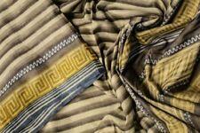 Vintage Indian Pure Tussar Silk Saree Printed Sari Sarong Wrap Antique Textile