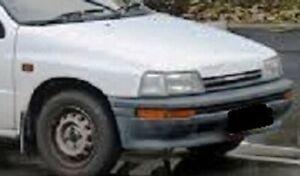 DAIHATSU CHARADE G100 MODEL 1988 93 FRONT FENDER PANEL PAIR LH RH USED