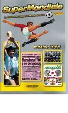 Super Mondiale Panini Mexico 1986 Gazzetta Ristampa Album