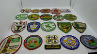 Lot of 20 Different Vintage 1950s 1960s Boy Scouts BSA Patch Collection (Lot 3)