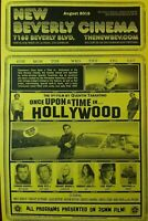 ONCE UPON A TIME IN HOLLYWOOD - QUENTIN TARANTINO MEMORABILIA NEW BEVERLY CINEMA