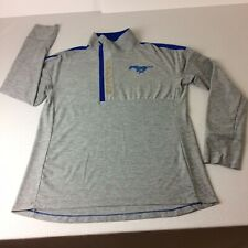 Underarmour Long Sleeve Shirt For Men Sz Large Gray And Blue
