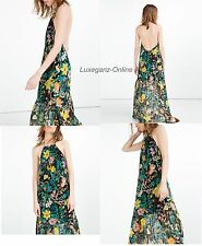 ZARA LONG PRINTED DRESS - Maxi MultiColoured ladies Women Floral Summer Dress