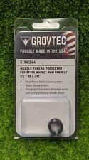 GrovTec Muzzle Thread Protector, GLOCK 17,19, Steel, Black Oxide - GTHM244