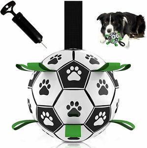 Dog football toys interaction exercise kick throw fetch balls puppy chew outdoor