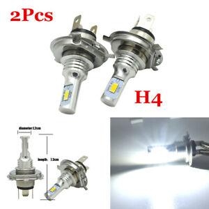 Pair H4 9003 80W 4000LM 6000K Car CREE LED Conversion Headlight Bulb Hi/Lo Beam