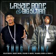 Layzie Bone, Layzie Bone & Big Sloan - Thug Twins [New CD] Explicit