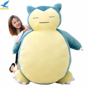 Fancytrader 200cm Giant Stuffed Snorlax Plush Kabigon Doll Bed Cover Best Gift