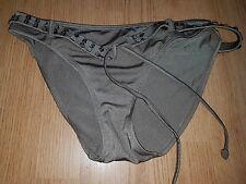 Gorgous metallic green NEXT bikini bottoms size 10