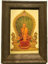 PHRA LP DERM RARE OLD THAI BUDDHA AMULET PENDANT MAGIC ANCIENT IDOL#20
