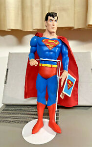 Superman statue 1988 Hamilton gifts with stand and tags DC