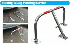 Parking security barrier car caravan drive storage post folding lock pole house