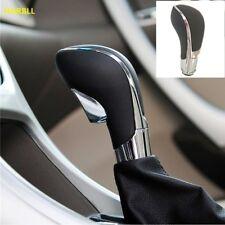 pommeau de vitesse Chrome PU En Cuir Automatique Transmission Pour Opel