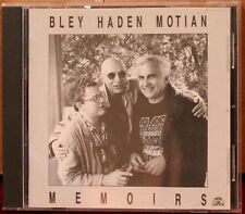 SOUL NOTE CD: Memoirs - Paul Bley, Charlie Haden, Paul Motian - 1992 Italy