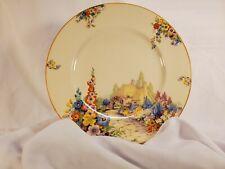 "Vintage Swinnertons Old England Garden 10"" Plate HAMPTON IVORY"