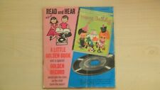 Vintage Little Golden Book and Record HAPPY BIRTHDAY 1960