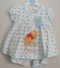 Baby Girl's Disney WINNIE THE POOH Dress & Bloomers Set NWT  Newborn-12 Months
