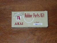 Vintage Akai Deluxe Reel to Reel Rubber Parts Kit, Terecorder
