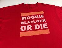 Mookie Blaylock Or Die T-Shirt Fits Mens SZ M/L Atlanta Hawks NBA Basketball Tee