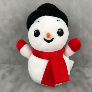 VERY RARE Disney Parks Wishables Christmas Snowman Plush Limited Holiday Release