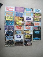 SET OF 27 ON FOUR WHEELS MOTORING IN WEEKLY PARTS SECOND EDITION SERIES FREEPOST