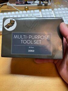 26 Piece Multi Purpose Mini Tool Kit - DIY, Electrical, PC, Car, Bike, Craft etc
