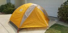 REI Co-op Half Dome 2 Plus Lightweight Backpacking Tent with footprint.