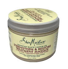 Shea Moisture Jamaican Black Castor oil Strengthen & Restore Hair Masque 12 oz.