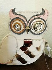 Kate Spade New York Blaze A Trail Owl Coin Purse Gift Collectible New with Tag