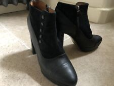 Hobbs ankle boots  A Vivienne Westwood Style Suede Leather High Heel 38.5