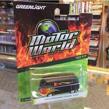 Motor World Greenlight Volkswagen Panel Van W/Flames Series:17 *Free Shipping*