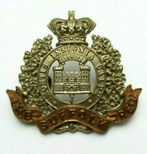 More details for the suffolk regiment victorian or's bi metal cap badge - 2 lugs to rear