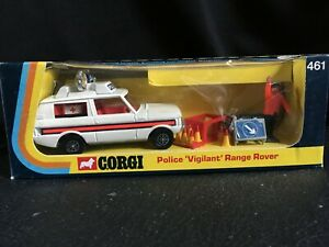 CORGI 461 - POLICE 'VIGILANT' RANGE ROVER - WHIZZWHEELS