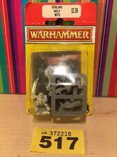 517 Warhammer Oldhammer SAVAGE ORC HOBGOBLIN GOBLINS BOYZ - Boar Rider BNIB