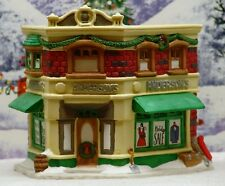 "IT'S A WONDERFUL LIFE CHRISTMAS VILLAGE ""ANDERSON'S DEPT STORE"" ***EX COND***"