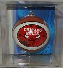 New!  NBA Chicago Bulls mini-replica Basketball Ornament ~ Great Gift Idea!
